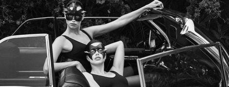 У шкіряних масках і сексуальних боді: красуні Шейк і Ліма постали в пікантному зніманні