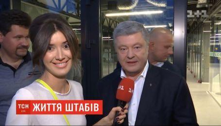Красная икра, шампанское и музыка: ТСН побывала в штабах главных политсил