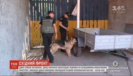 """Піротехнічні групи обстежують ділянки біля пункту пропуску """"Майорськ"""""""
