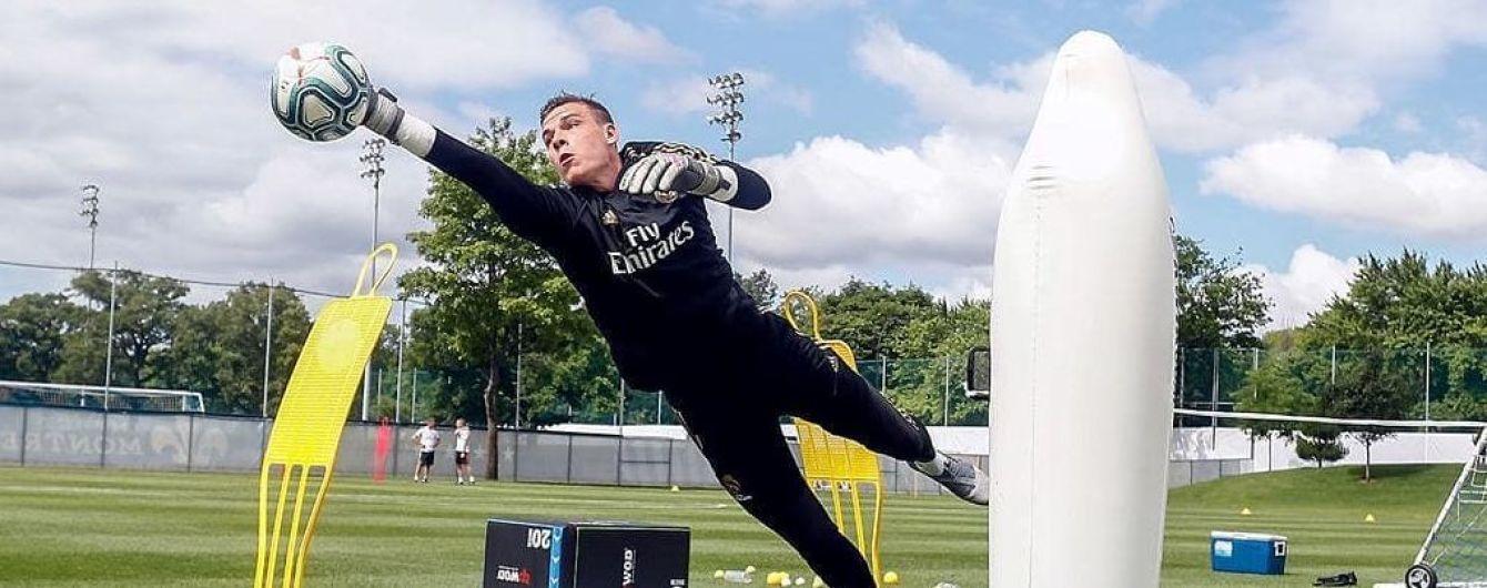 """""""Реал"""" відправив українця Луніна у клуб Роналдо"""