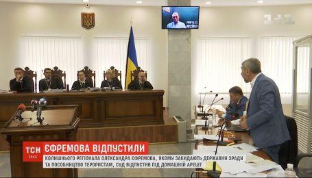 Колишнього регіонала Єфремова випустили під домашній арешт