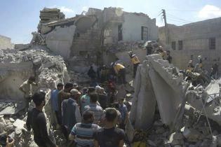 У Сирії внаслідок авіаударів за день загинули понад 40 людей