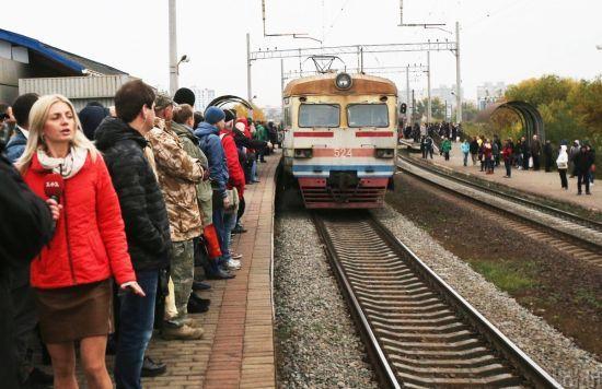 Міські електрички Києва не запустять 1 червня