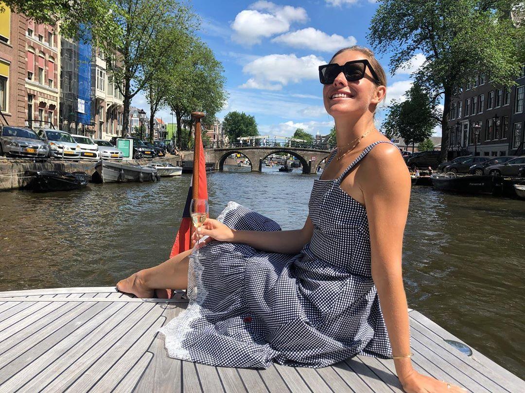Закохані Горбунов та Осадча показали романтичні фото з подорожі Амстердамом (фото)