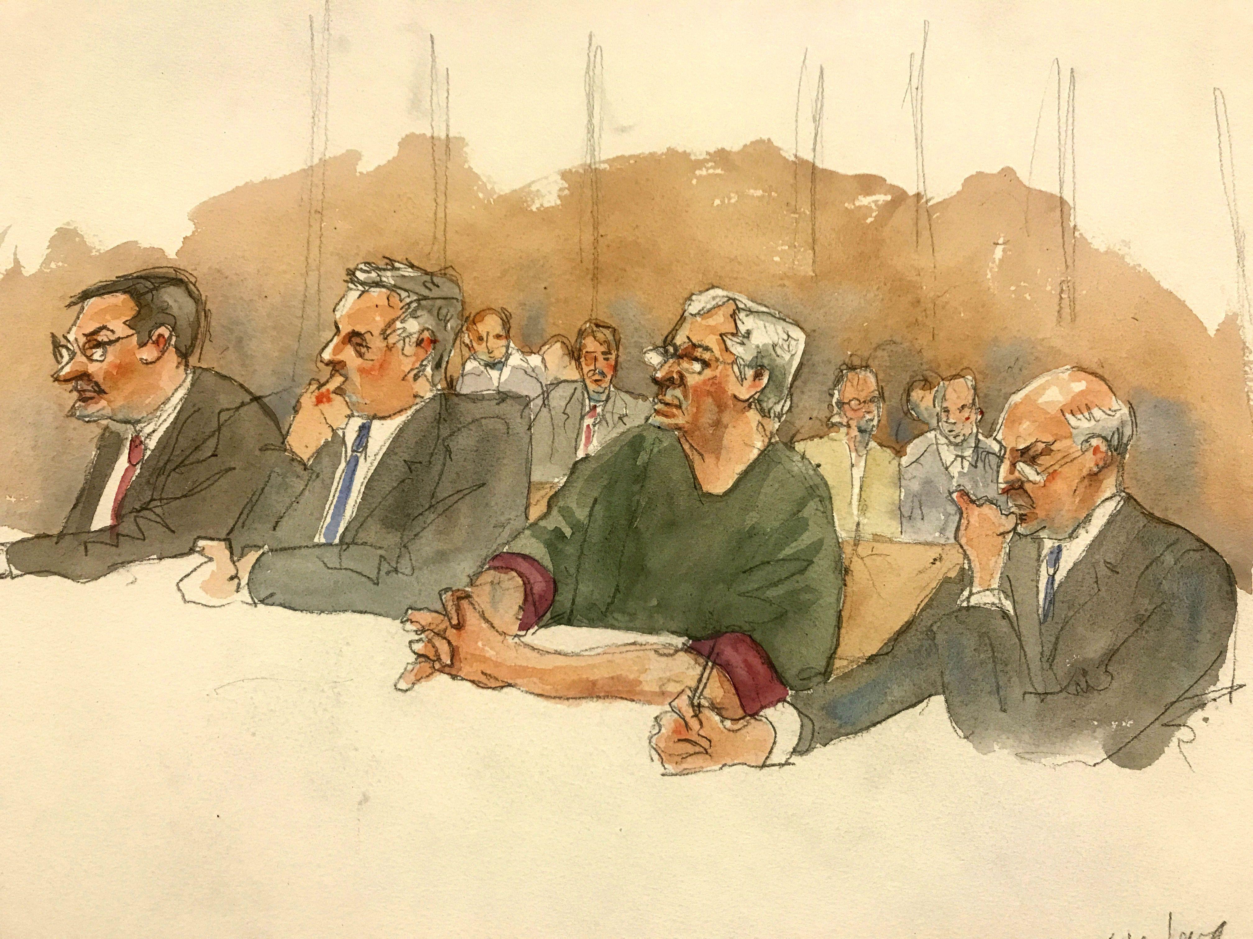 Суд над Епштейном