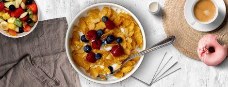 Скільки цукру у вашому сухому сніданку?