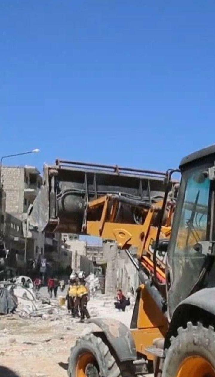 Сирійці звинувачують Росію у нанесенні авіаудару на ринок у провінції Ідліб