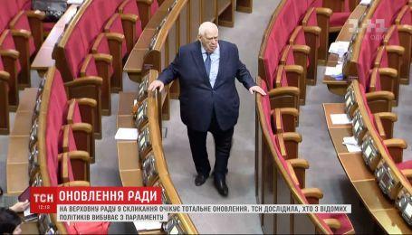 Опытных депутатов выбивают неопытные и неизвестные в политике