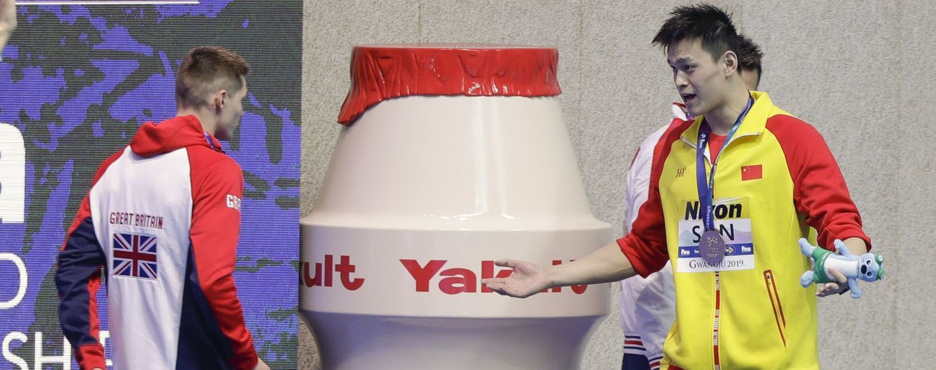 Ще один спортсмен бойкотував нагородження китайця, який оскандалився через допінг-тест