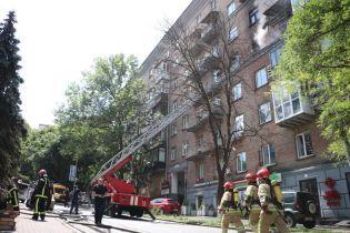 В пожаре в центре Киева погибла парализованная женщина