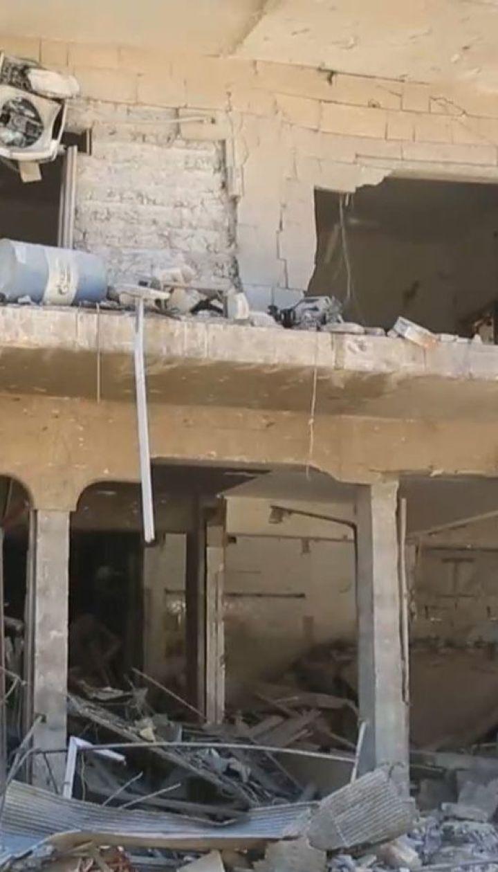 Щонайменше 43 людини загинули внаслідок потужного авіаудару по ринку у Сирії