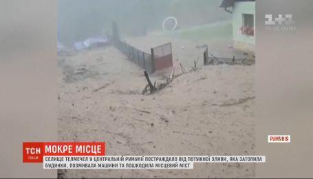Мощное наводнение накрыло центр Румынии