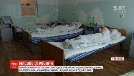 Десятьох людей шпиталізували внаслідок отруєння шаурмою на рівненському фестивалі