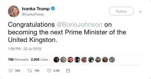Іванка Трамп Кінгстон