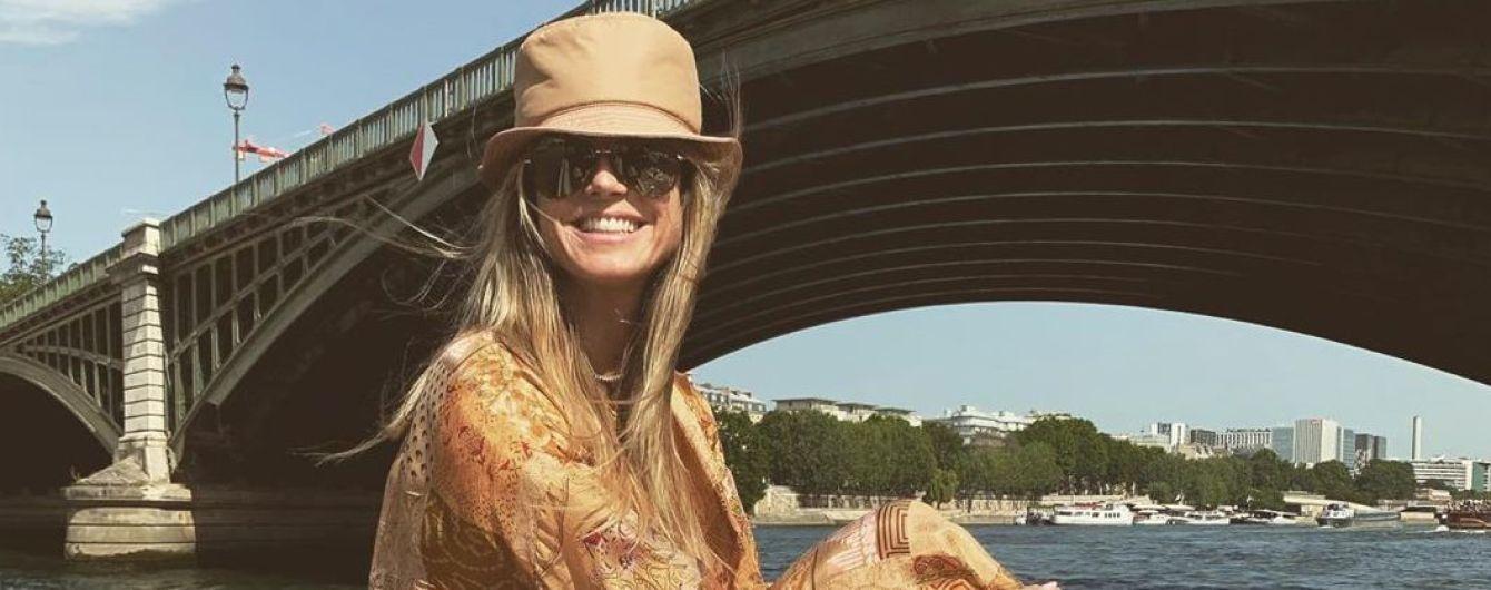 В одних только стрингах: Хайди Клум поделилась снимками с отдыха