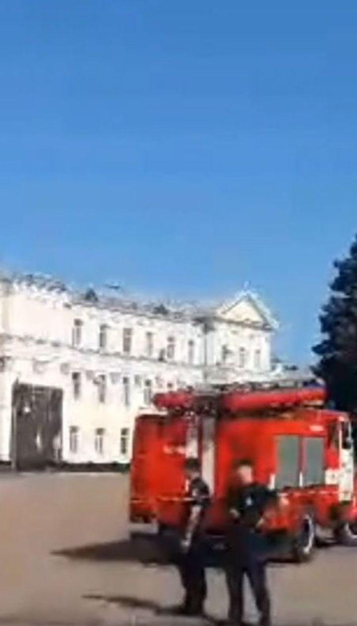 На почту Житомирского областного совета поступило анонимное сообщение о минировании