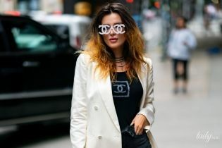 Как всегда, эпатажна: Белла Торн вся в Chanel на улицах Нью-Йорка