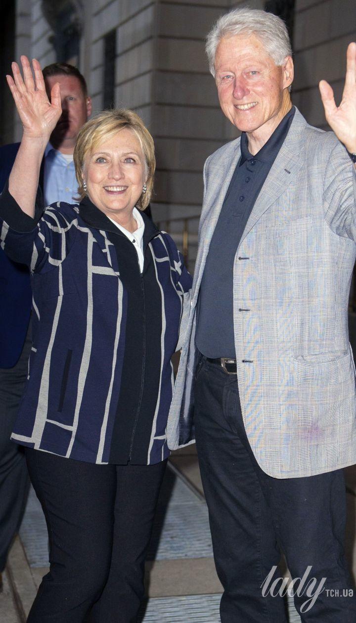 Гілларі і Білл Клінтон