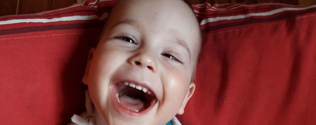Допоможіть 2-річному Тимофійчику зробити перший самостійний подих
