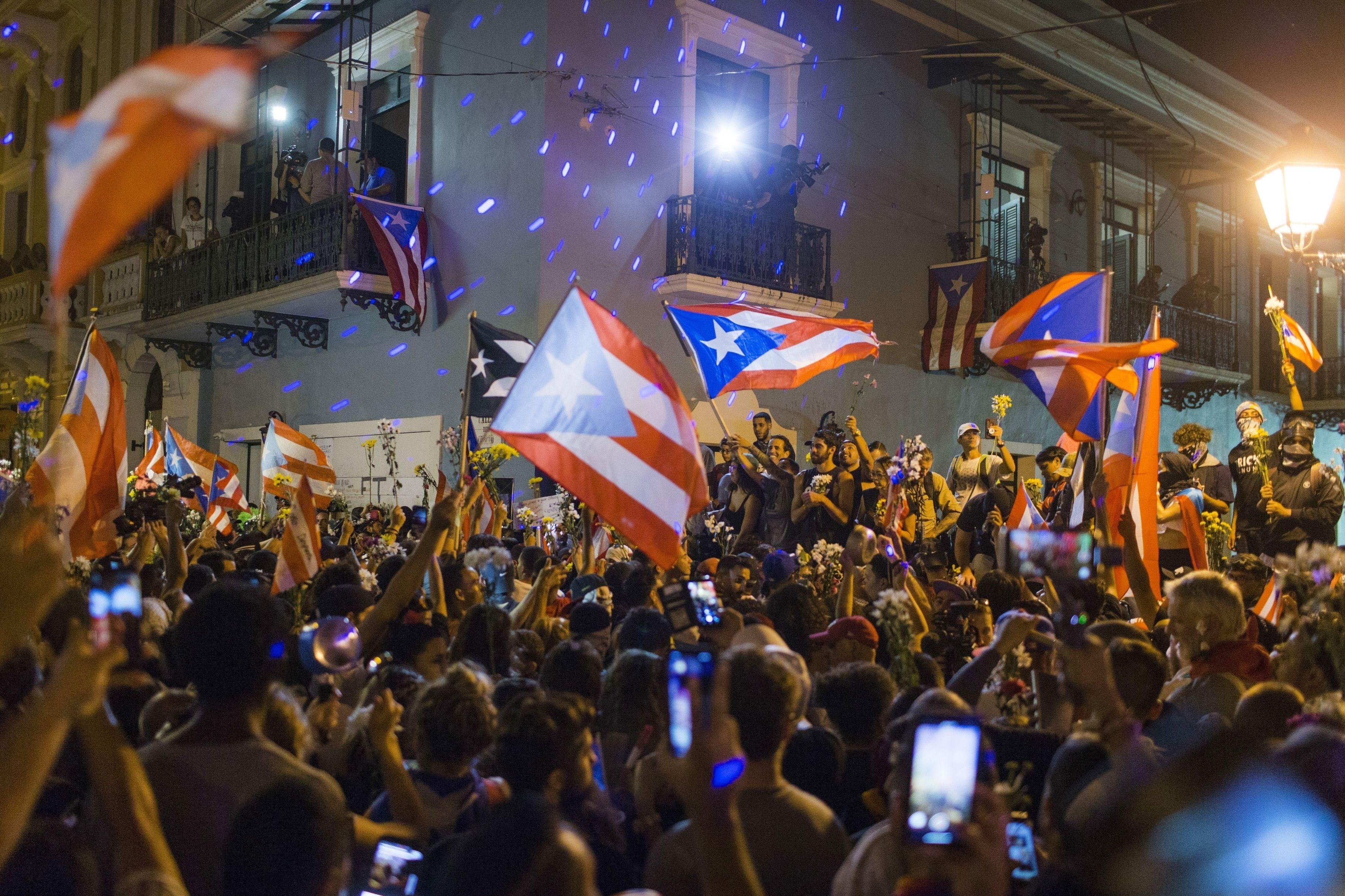 протести в пуерто-ріко