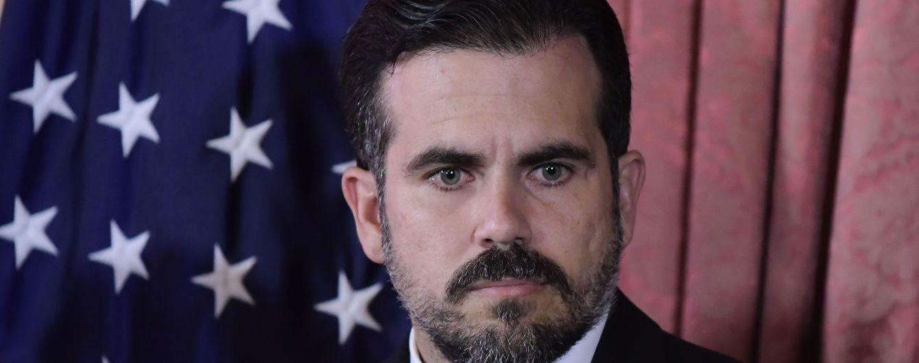Губернатор Пуерто-Рико подав у відставку на тлі масових протестів через непристойне листування