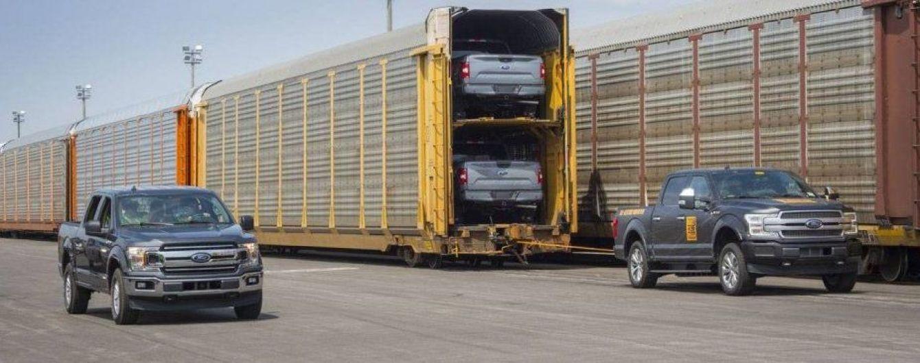 Как тебе такое, Илон Маск? Электрический пикап Ford F-150 потянул 450 тонн груза