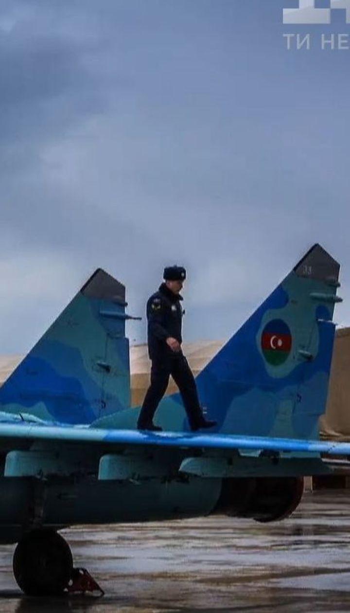 Над Каспийским морем исчез азербайджанский истребитель