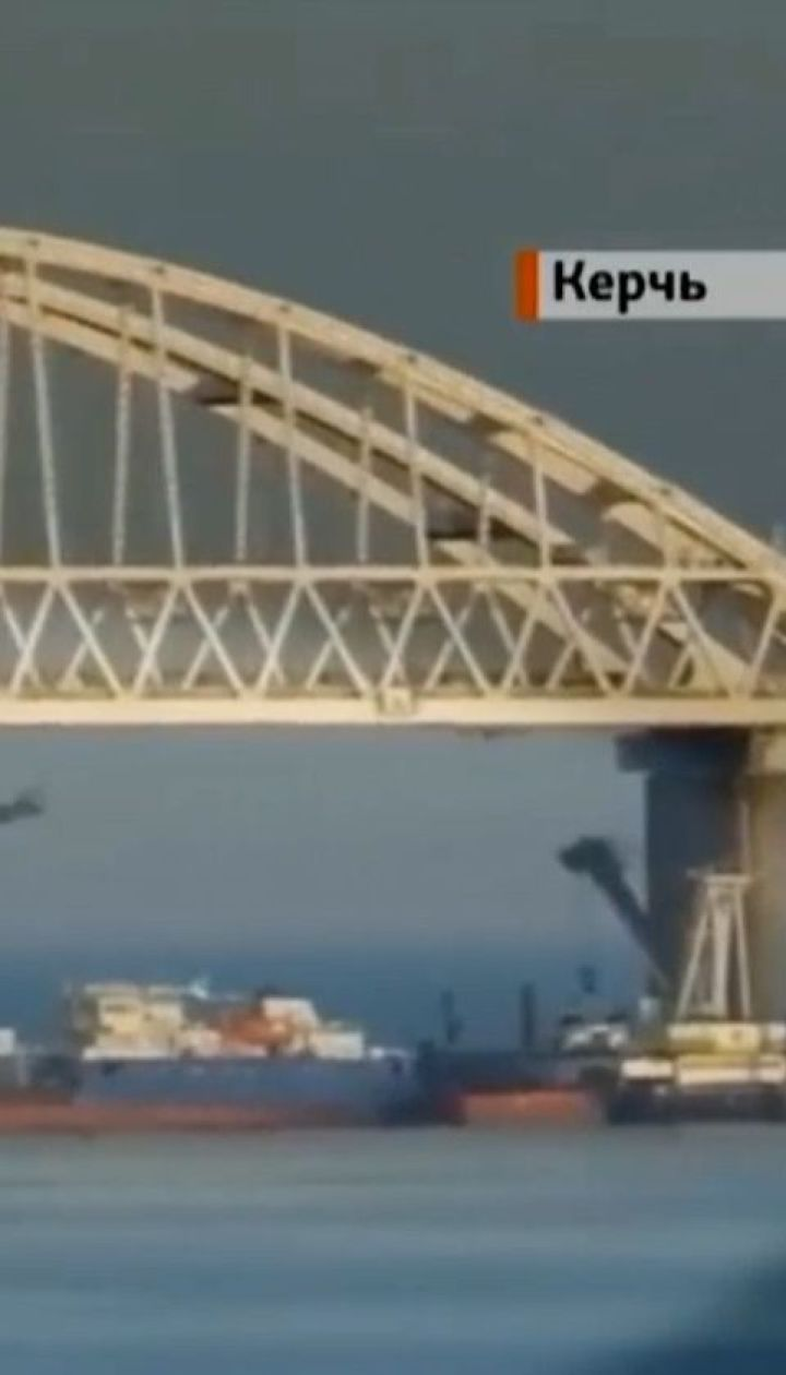 Українські силовики затримали російський танкер, яким перекривали Керченську протоку