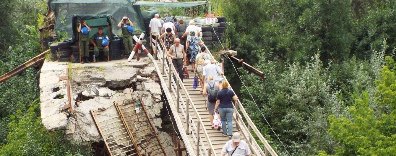 Боевики срывают начало разминирование моста в Станице Луганской