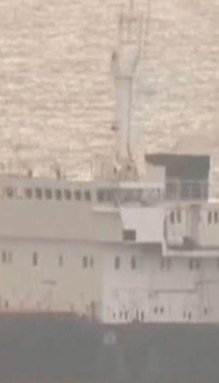 СБУ відпустила моряків із затриманого напередодні російського судна