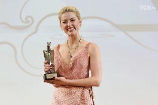 Эмбер Херд удивила выбором наряда для кинофестиваля в Италии