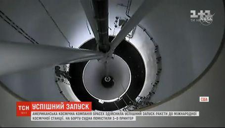SpaceX осуществила успешный запуск ракеты к Международной космической станции