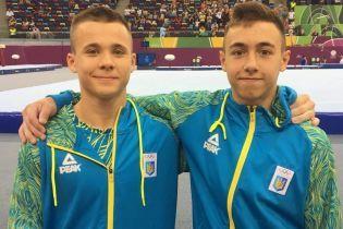 Украинские гимнасты выдали феерическое выступление на Европейском юношеском олимпийском фестивале
