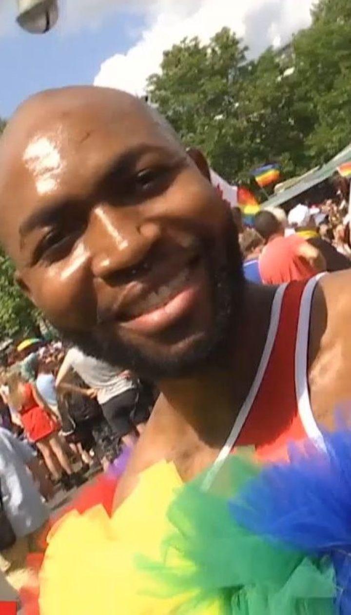 На традиционном гей-параде в Берлине собралось около миллиона человек