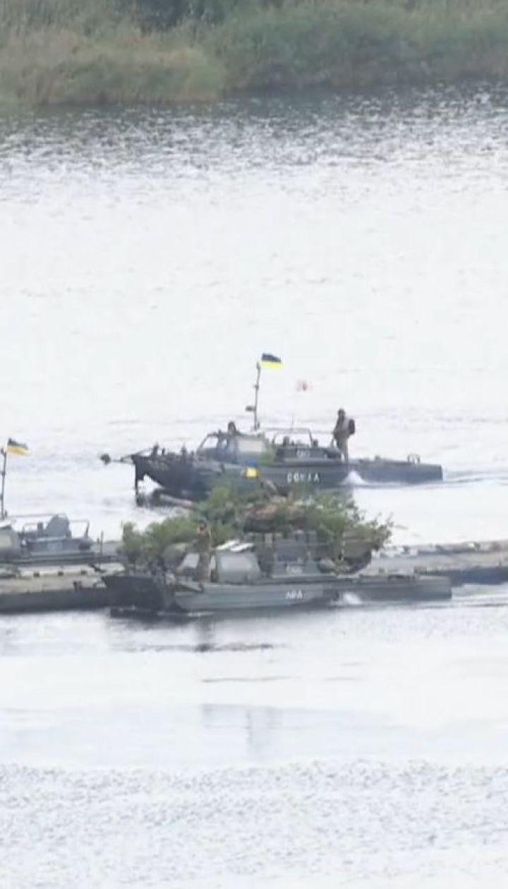Масштабная тренировка украинской армии состоялась в Луганской области