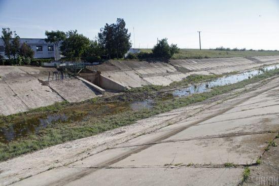 Вода до Криму: як ВР ледве не посприяла відновленню водопостачання до окупованого півострова