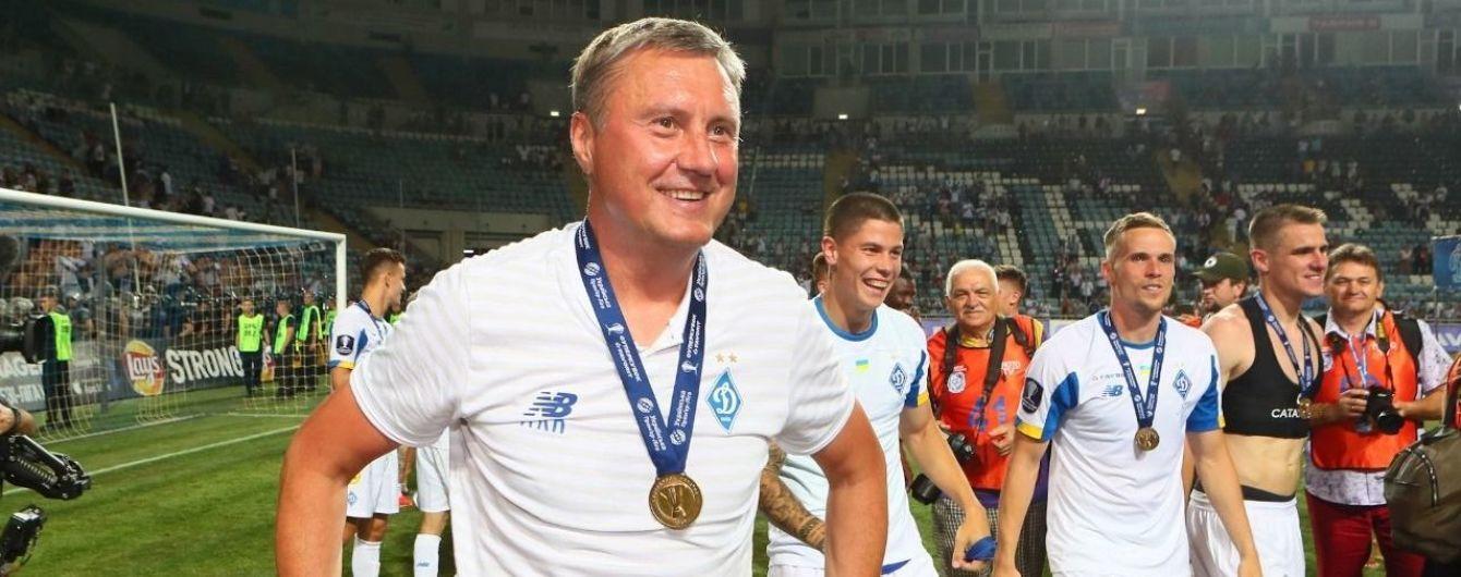 """Хацкевича звільнено з посади головного тренера """"Динамо"""""""