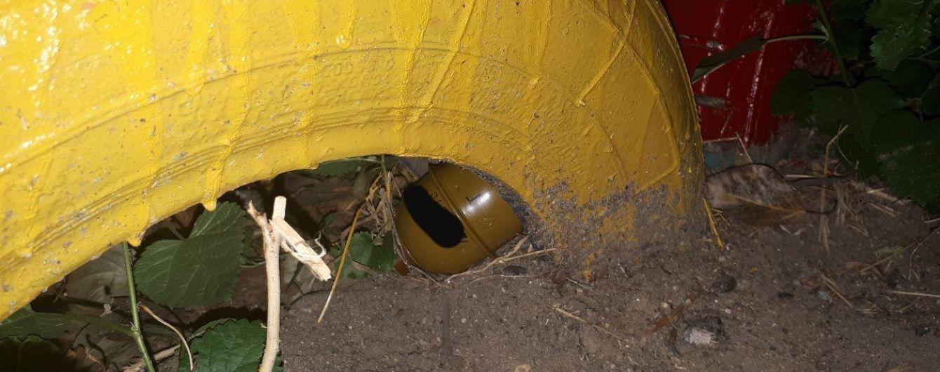 У Миколаєві на дитмайданчику знайшли гранату. А потім місцева жінка принесла запал до неї