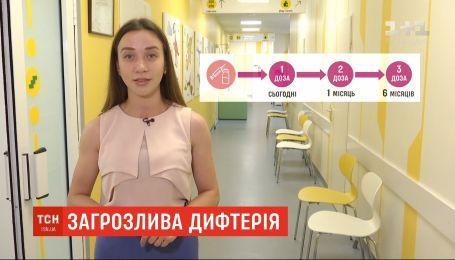 Експерти прогнозують спалах дифтерії в Україні