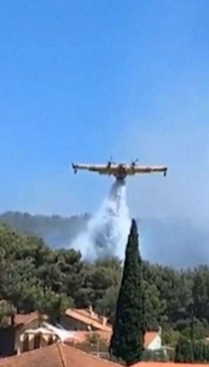 Масштабные лесные пожары накрыли Европу