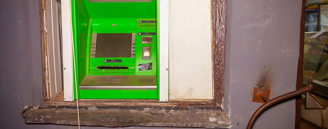У Дніпрі вночі невідомі підірвали банкомат