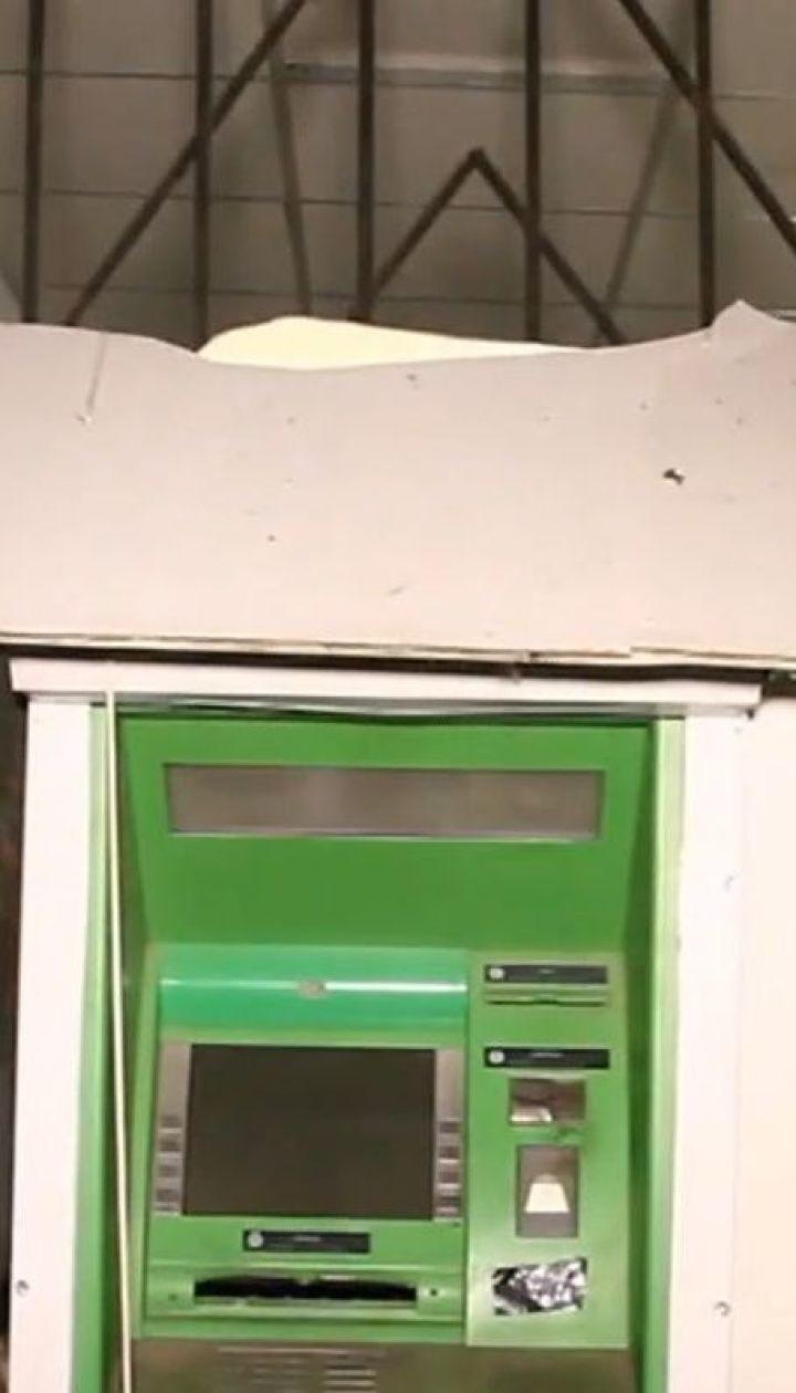 В Днепре ночью неизвестные взорвали банкомат, который находился в магазине