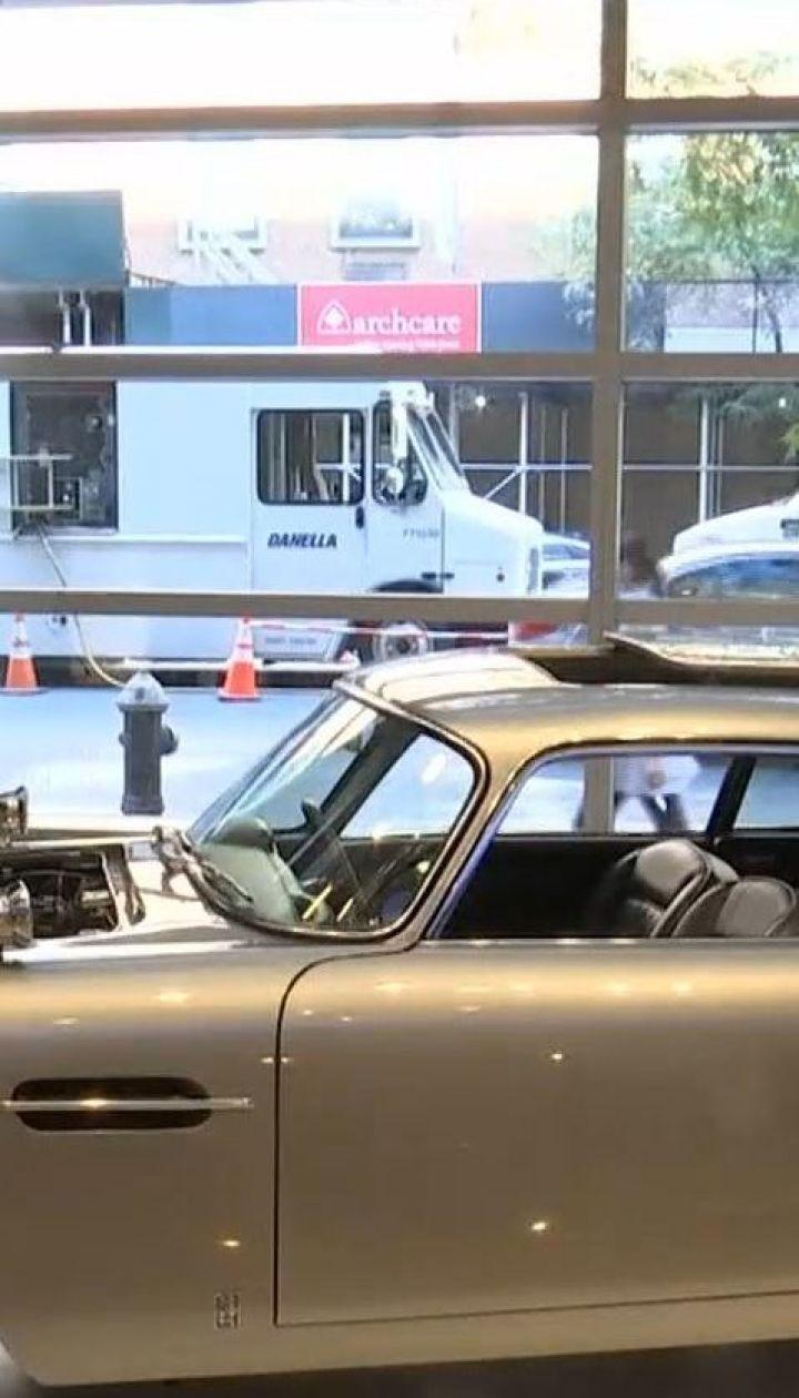 Машина, как у Джеймса Бонда: в США на аукционе продадут легендарный автомобиль шпиона