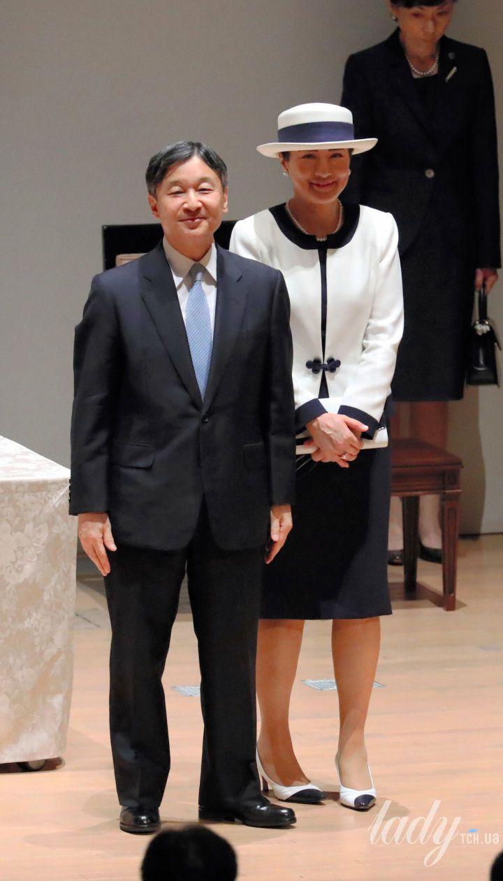 Император Нарухито и императрица Масако