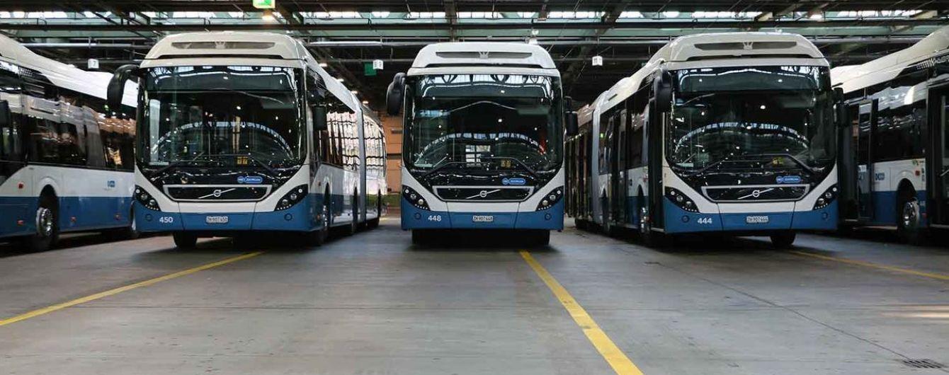 У швейцарському місті Люцерн планують ввести плату за стояння туристичних автобусів