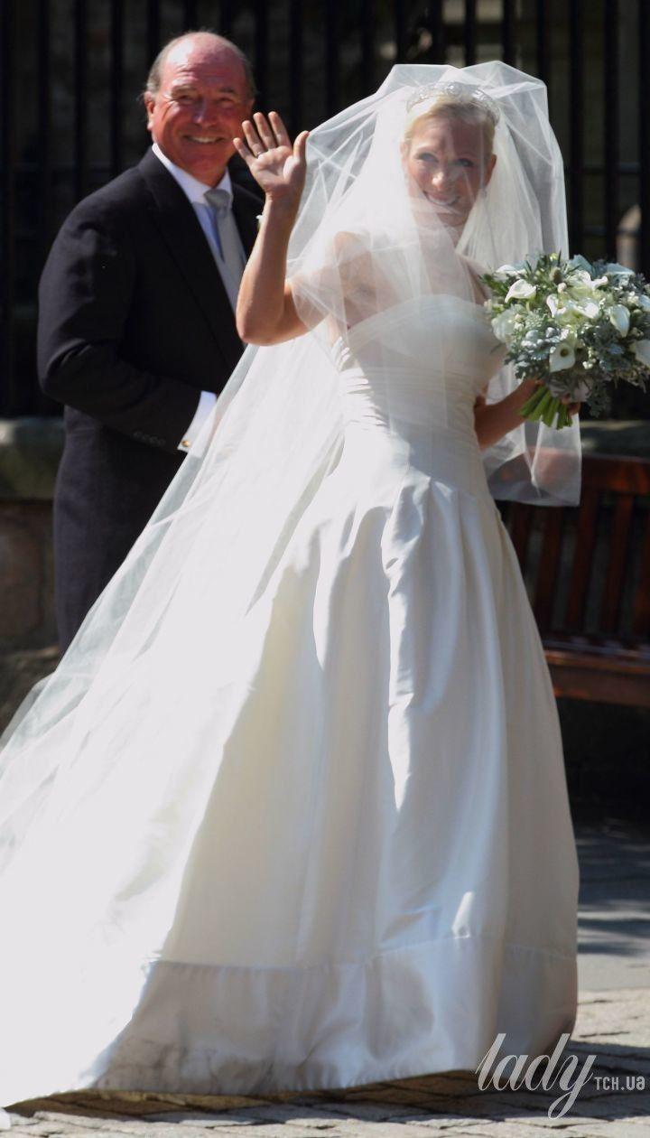 Свадьба Зары и Майка Тиндолл