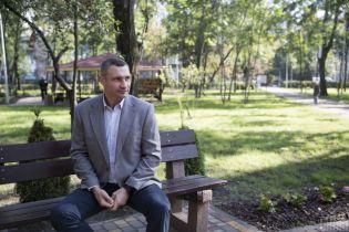 Кличко объяснил свою поддержку Порошенко на выборах, но уклонился от вопроса об отсутствии на съезде