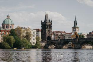 В Сети появился видеоролик украинскими местами Праги. Видео