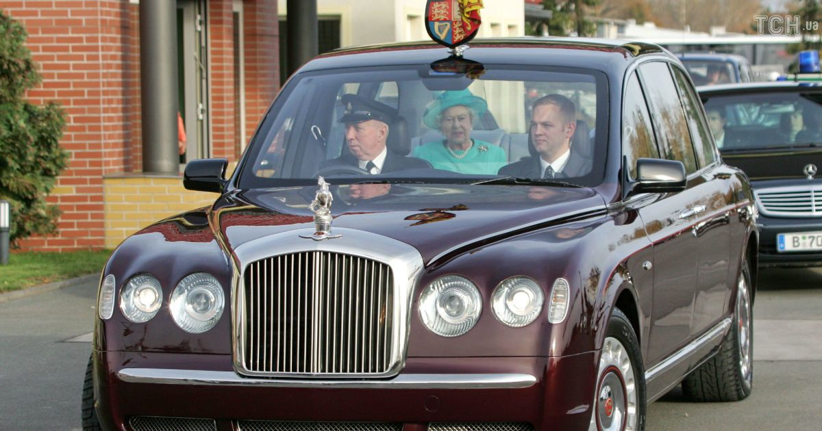 Bentley State Limousine королевы Елизаветы ІІ,