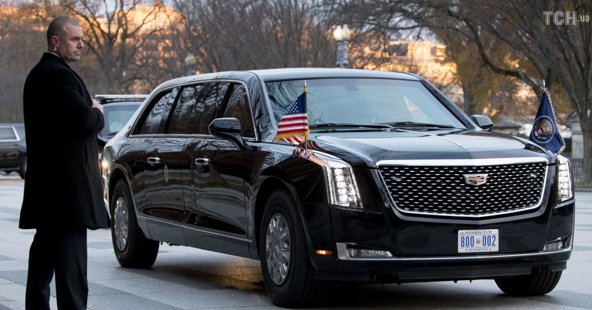 "Cadillac One ""Зверь"" президента США Дональда Трампа"